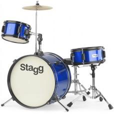 Stagg TIM JR 3/16 BL MK II, detská bicí sada, modrá