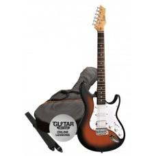 Elektrická kytara paket Ashton AG232 TSB Pack