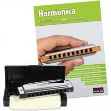 Cascha HH 1600 EN Blues Harmonica Set